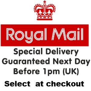 Royal Mail Special Delivery Guaranteed Next Day By 1pm