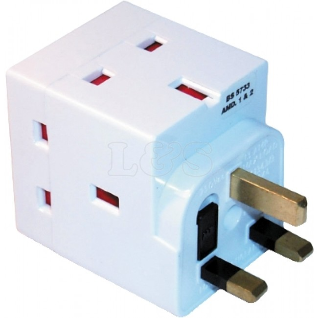 2 and 3 way Adaptors | Shaver Adaptor