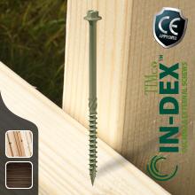 In-dex framing screws | Exterior screws | Coach screws