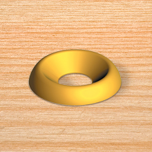 Screw Cup Washers | decorative cup washers