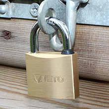 Brass Padlocks | Long Shackle padlocks