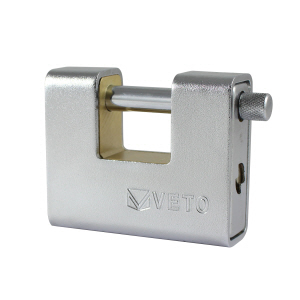 Armoured shutter lock