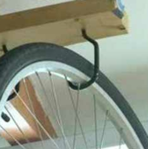 Storage hooks | Bicycle | Ladder | Steps hooks