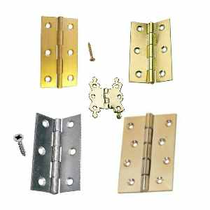 Brass and Steel Hinges