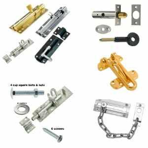 Door Bolts | Doorchains | Concealed bolt