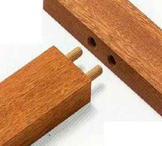 Wooden Dowel Pegs