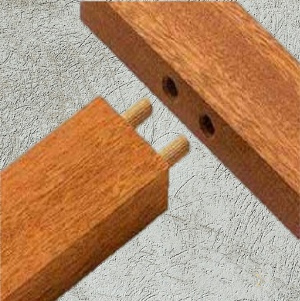 Wooden  Dowel | Fluted Dowel Pegs | Hardwood dowels
