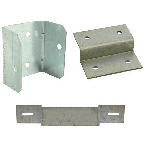 Fence panel clips | fence pane; security bracket | z clips