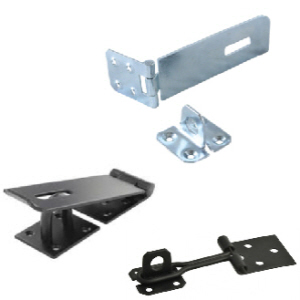 Safety hasp and staple | Wire hasp and staple