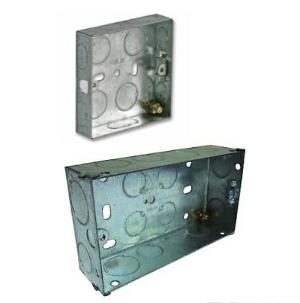 Single metal back box | Double metal back box | diy4u