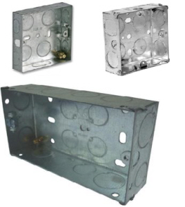 Metal Switch & Socket Back Boxes