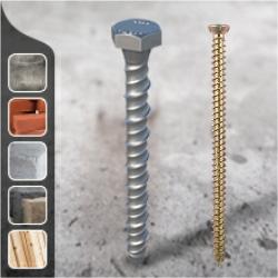Multi fix Concrete Bolts | Concrete Screws | Shield Anchors | Through Bolts