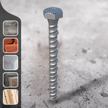 Multi-fix Concrete Hex Head Bolts