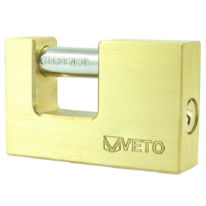 Brass anvil shutter lock