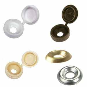 Screw Cup Washers & Hinged Covers