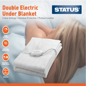 Status Double Electric Under Blanket