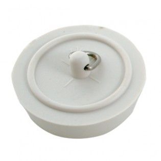 "Bath Plug 45mm (1.3/4"") White"
