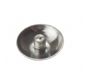 Chrome Domed Covers 13mm- 5BA thread - Bag 20