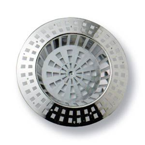 "Sink Strainer Plastic Chrome Plated 38mm (1-1/2"")"