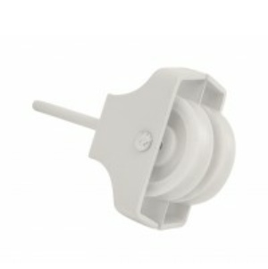 Double Screw-in Pulley 45mm White