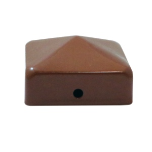 Timco Post Caps 75mm - Red Oxide