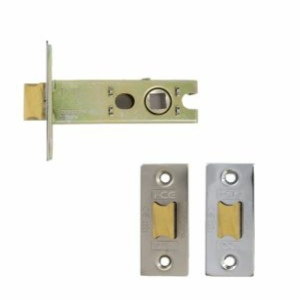 Architectural Tubular Latch Bolt Through 63mm Satin Nickel / Nickel Plated
