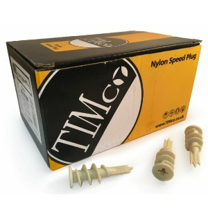 Nylon Speed Plugs - Box 100