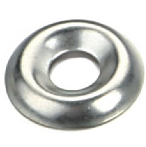 60 x Screw Cup Washers No.6 Nickel Plated