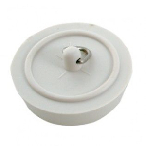 "Sink Plug 38mm (1.1/2"") White"
