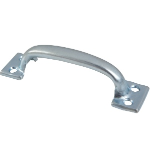 Steel Handles  Front (Face) Fixing 125mm. Pack 1
