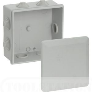 Geros Square Enclosure IP56 - 80 x 40mm