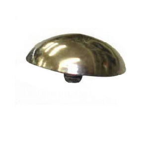 BD100 - 100 x 13mm Brass Domed Covers  5BA for threaded mirror screws
