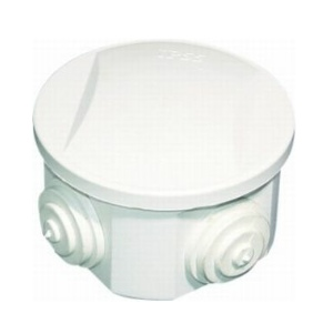 Circular junction box Ip44 - 65 x 35mm