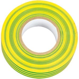 ITGYSTRIPE -  19mm x 25m Earth electrical insulating tape