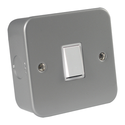 Metalclad Switches, Sockets and Spur Unit