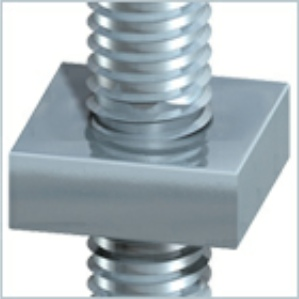 Roofing Bolts & Square Nuts Zinc Plated - 10 sizes