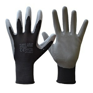 Tuff-Grip Multi-Purpose Nitrile Dipped with Polyester Lining Gloves - Sizes 9 & 10 (L & XL)