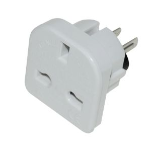Status Intercontinental Adaptor - White