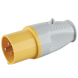 Powermaster Yellow Plug 16amp - 110v - IP44