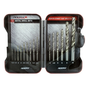 15pc. HSS Metal Drill Set