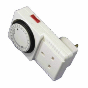Powermaster Plug-in Timer - 24 Hour - 13 Amp