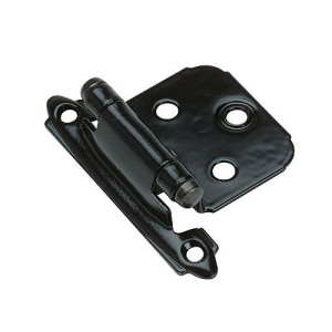 BC050B - 2 x Cabinet Hinges Self Closing Black with screws