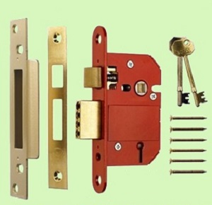 BSSASH64SC - 64mm Era Fortress BS3621 Sash Lock 5 Lever Satin Chrome