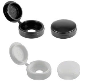 Hinged Screw Cups and Covers
