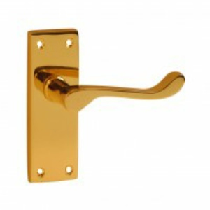 Victorian Scroll Handles - Polished Brass, Polished Chrome & Satin Chrome Finishes
