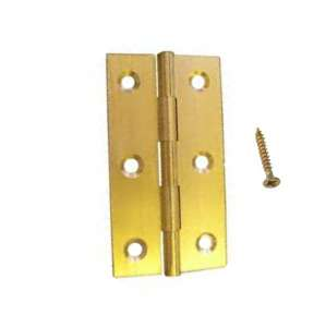 Solid Brass Butt Hinges 40mm