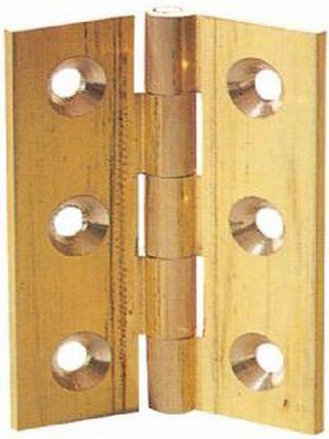 Brass butt hinges | Brass cabinet hinges |diy4u - diy4u.co.uk