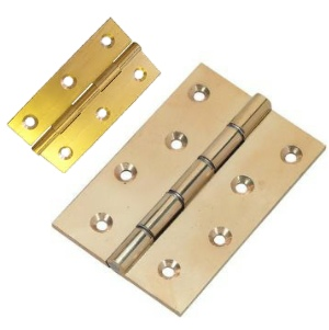 Solid Brass Butt Hinges & DSW Hinges