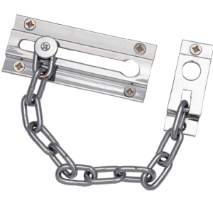 DC12212 - Door Security Chain, Chrome Plated, fixings included