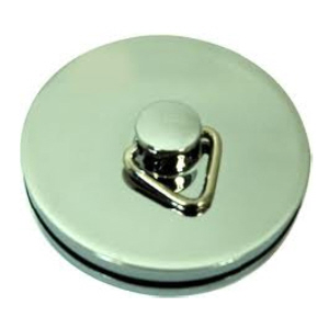 Sink and Bath Plug Chrome Plated